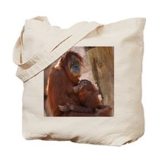 (21) Orang Mother  Child 7372 Tote Bag