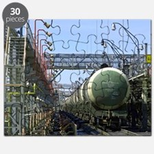 St Petersburg oil terminal, Russia Puzzle