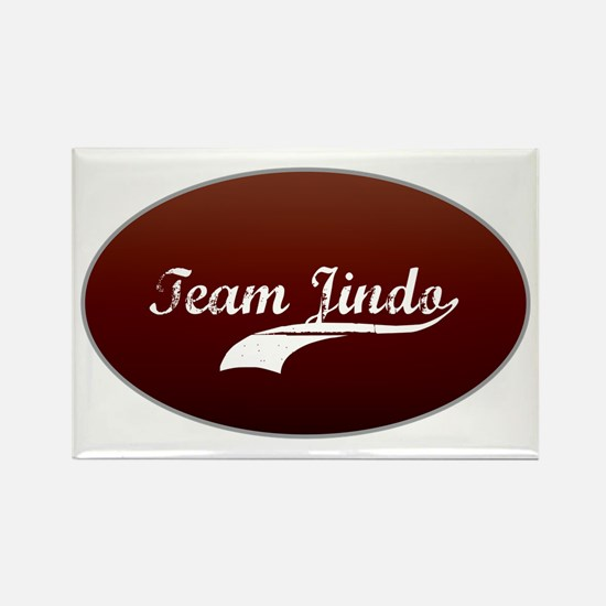 Team Jindo Rectangle Magnet