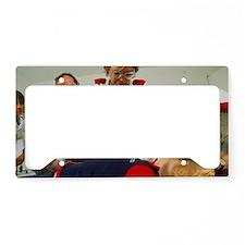 Cardiopulmonary resuscitation License Plate Holder