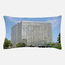 Stadttor building, Dusseldorf, Germany Pillow Case