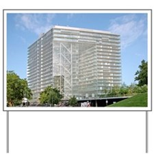 Stadttor building, Dusseldorf, Germany Yard Sign