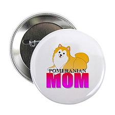 "Pomeranian Mom 2.25"" Button (100 pack)"