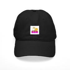 Particolor Pomeranian Mom Baseball Hat