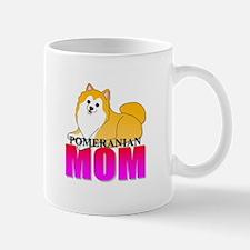 Particolor Pomeranian Mom Mug