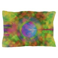 Computer artwork of IVF: egg injected  Pillow Case