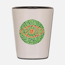Colour blindness test Shot Glass
