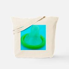 Condom Tote Bag