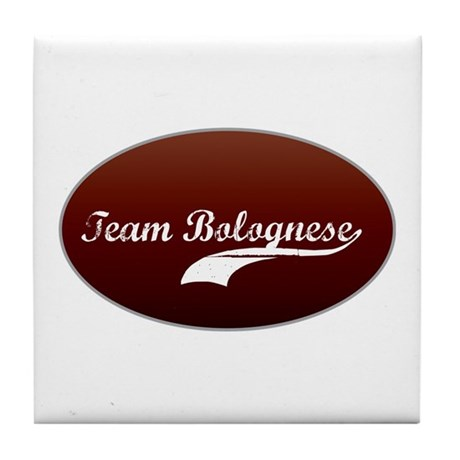 Team Bolognese Tile Coaster