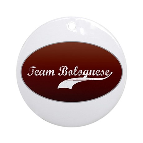 Team Bolognese Ornament (Round)