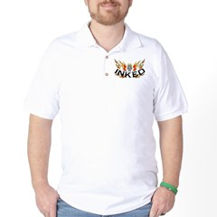Inked Flaming Skull T-Shirt