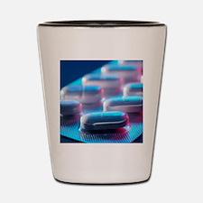 Ciprofloxacin antibiotics Shot Glass