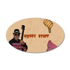 Sweet Willie Milton / Sweet  35x21 Oval Wall Decal