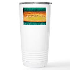 Coloured SEM of laser writing o Travel Mug