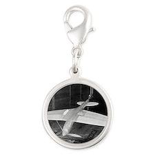 Supermarine Spitfire, 1940 Silver Round Charm