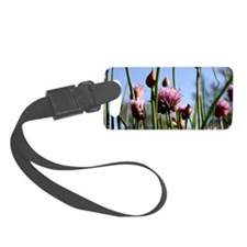 Flowering Chive Luggage Tag