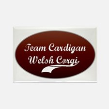 Team Cardigan Rectangle Magnet
