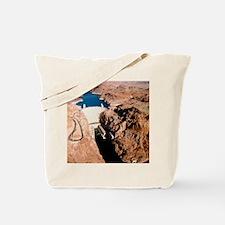The Hoover Dam, Colorado River Tote Bag