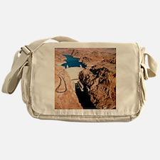 The Hoover Dam, Colorado River Messenger Bag