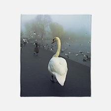 Swan Throw Blanket