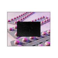Contraception pills, artwork Picture Frame