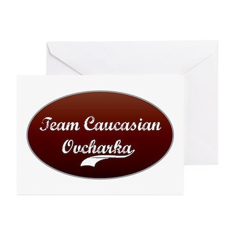 Team Caucasian Greeting Cards (Pk of 10)