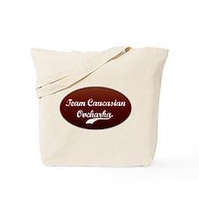Team Caucasian Tote Bag
