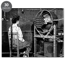 Testing an audio system, 1954 Puzzle