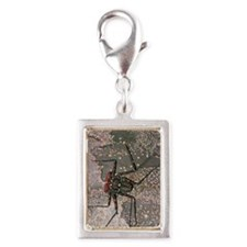 Tailless whip scorpion Silver Portrait Charm