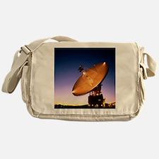 The 70 meter diameter antenna Messenger Bag