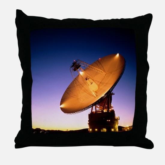 The 70 meter diameter antenna Throw Pillow
