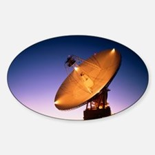 The 70 meter diameter antenna Sticker (Oval)