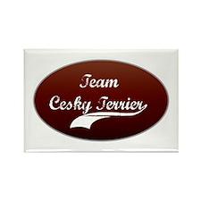 Team Cesky Rectangle Magnet (100 pack)
