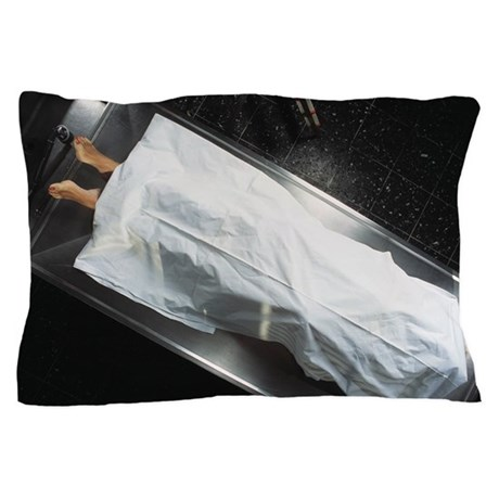 Dead Body In A Mortuary Pillow Case By Admin Cp66866535