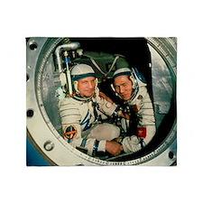 The crew of Soviet spacecraft Soyuz  Throw Blanket