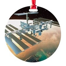 The International Space Station Ornament