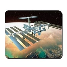 The International Space Station Mousepad