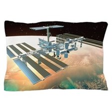 The International Space Station Pillow Case