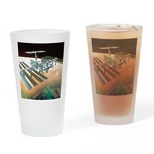 The International Space Station Drinking Glass