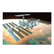 The International Space S Postcards (Package of 8)
