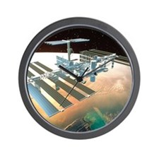 The International Space Station Wall Clock