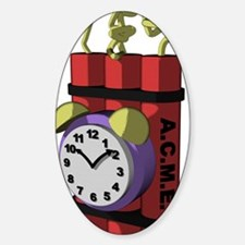 Time bomb with timer, cartoon Decal