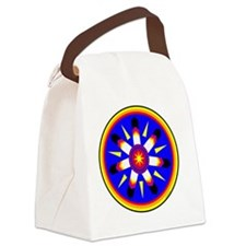 EAGLE FEATHER MEDALLION Canvas Lunch Bag