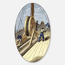 Telegraph cable laying Decal