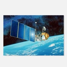 TOPEX/Poseidon satellite Postcards (Package of 8)