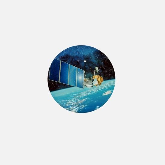 TOPEX/Poseidon satellite Mini Button
