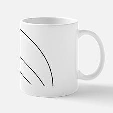 Three arc illusion Mug
