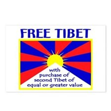 FREE TIBET* Postcards (Package of 8)