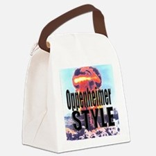 Oppenheimer Style! Canvas Lunch Bag