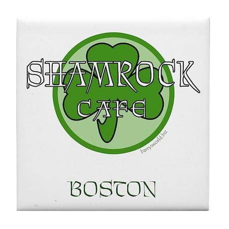 Shamrock Cafe-Boston Tile Coaster